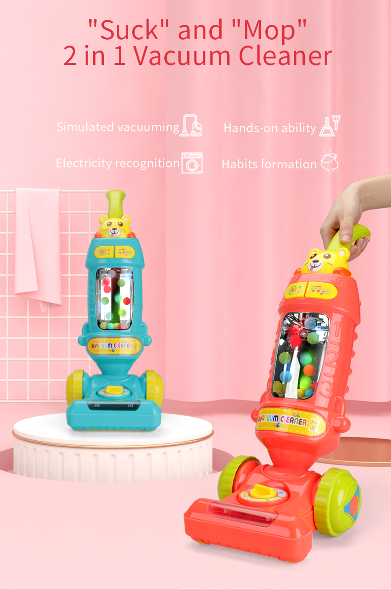 Electric toddler vacuum cleaner